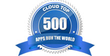 The Cloud Top 500 Award logo