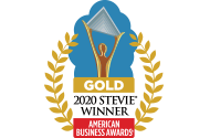 Stevie Winner Gold Award logo