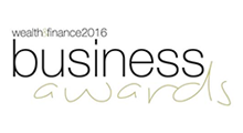 Wealth and Finance Business Awards logo